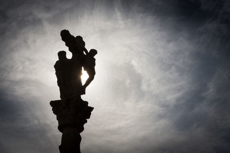 Silhouette of a cruceiro in Combarro, Pontevedra Cloud - Sky Combarro Cruceiro Crucifix Day Galicia Jesus Christ Low Angle View Nature No People Outdoors Pilgrimage Religion Sculpture Silhouette Sky SPAIN Statue Sun