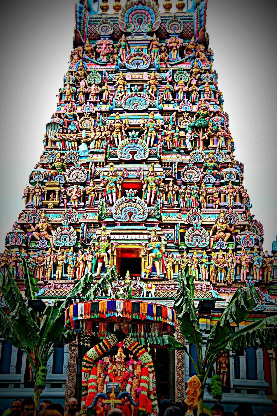 Hindu Temple In Malaysia Taking Photos First Eyeem Photo Hindu Temple Hindu Festival Thaipusam2016