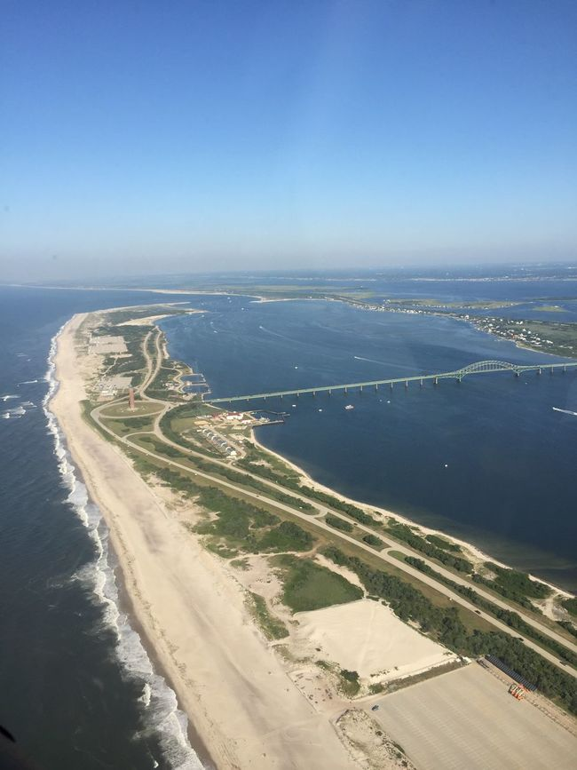 Flying Long Island south shore beaches near Captree and Fire Island. Cockpitview Aerialphotography View From Above From The Cockpit From An Airplane Window Aerial Shot Flying Aerial View Enjoying The View Long Island, Ny Fire Island