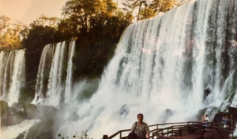 Flashbacksaturday Flashback 1993 Igazufalls Igazu Bresil  Brasil Waterfalls Paraná Waterfall Water Real People Day Nature Outdoors Beauty In Nature One Person Lomography Tourism Standing Travel Destinations Vacations Tree Sky People