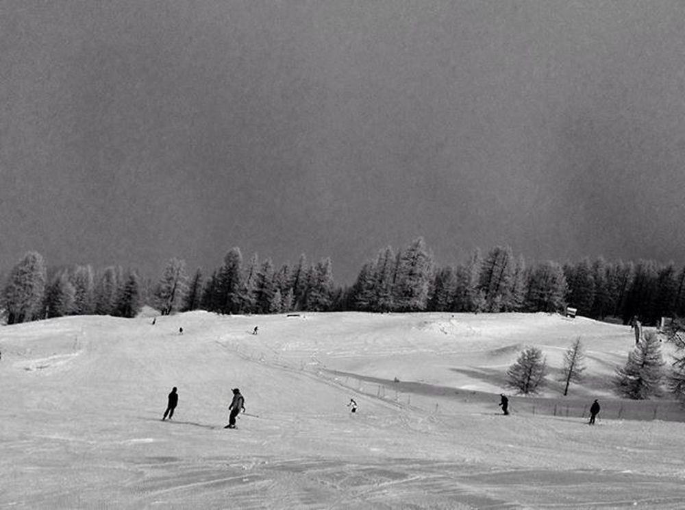 Skiing 2/4 Mountains Snowboard Snowboarding Snow Coloursplash Italy Ski Sauzedoulx Italian SonyA7s Sonyimages SonyA5000 Sonyphotography Blackandwhite