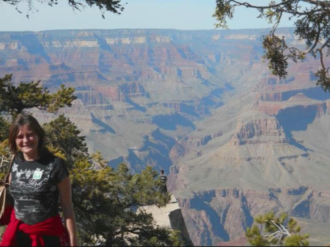 Grand Canyon, Nevada. One Person Landscape Scenics Outdoors Nature Beauty In Nature Canyonview Holiday Trip High Angle View Adventure Beauty In Nature Tranquil Scene