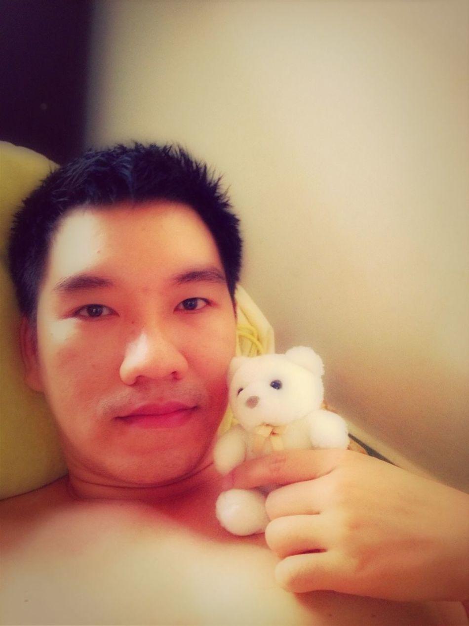Me and polar bear