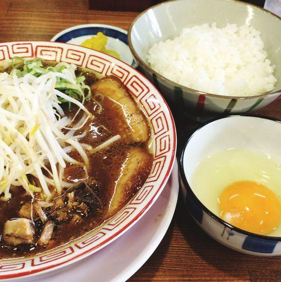 Food Porn Lunch Ramen & Tkg