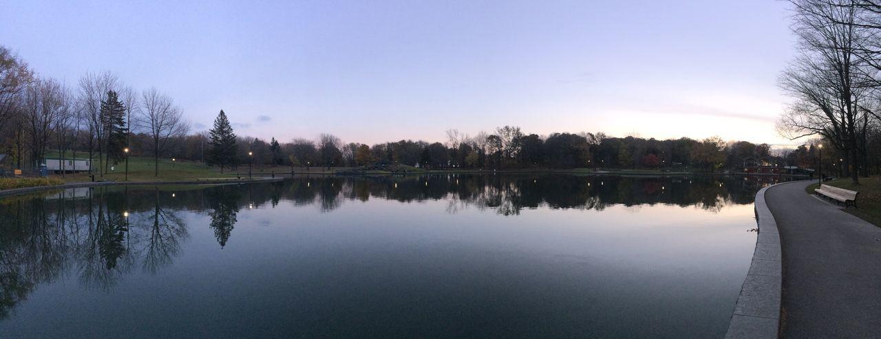 #beaver #Dark #goodbyesummer #montreal #Panorama #sunset #welikeit #winteriscoming
