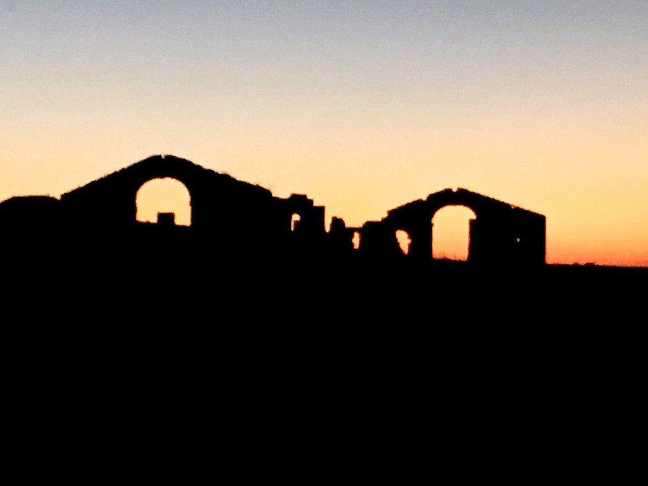 Italy Southitaly Basilicata Sunset Silhouette Scenics