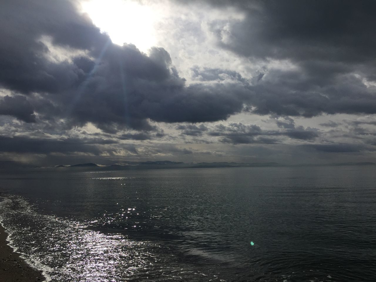Sea Sky Water Scenics Nature Cloud - Sky Tranquility Beauty In Nature Tranquil Scene Outdoors Rippled Horizon Over Water No People Idyllic Beach Day Storm Cloud