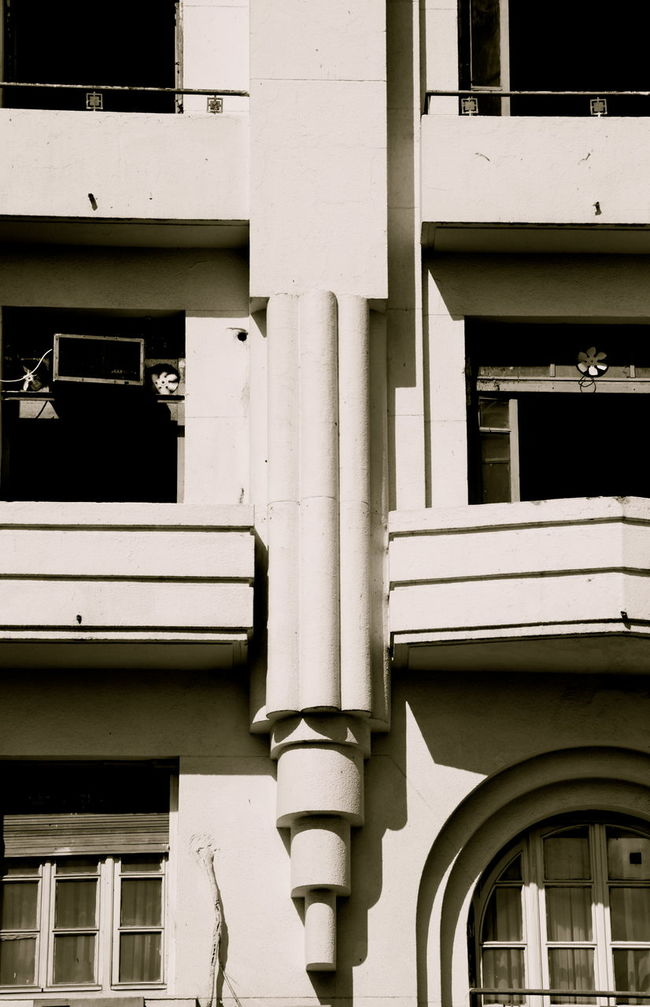 Architectural Detail Architecture Architecture Architecture_collection Building Exterior Exterior Monochrome No People Razionalismo Tunis Ville Nouvelle Window