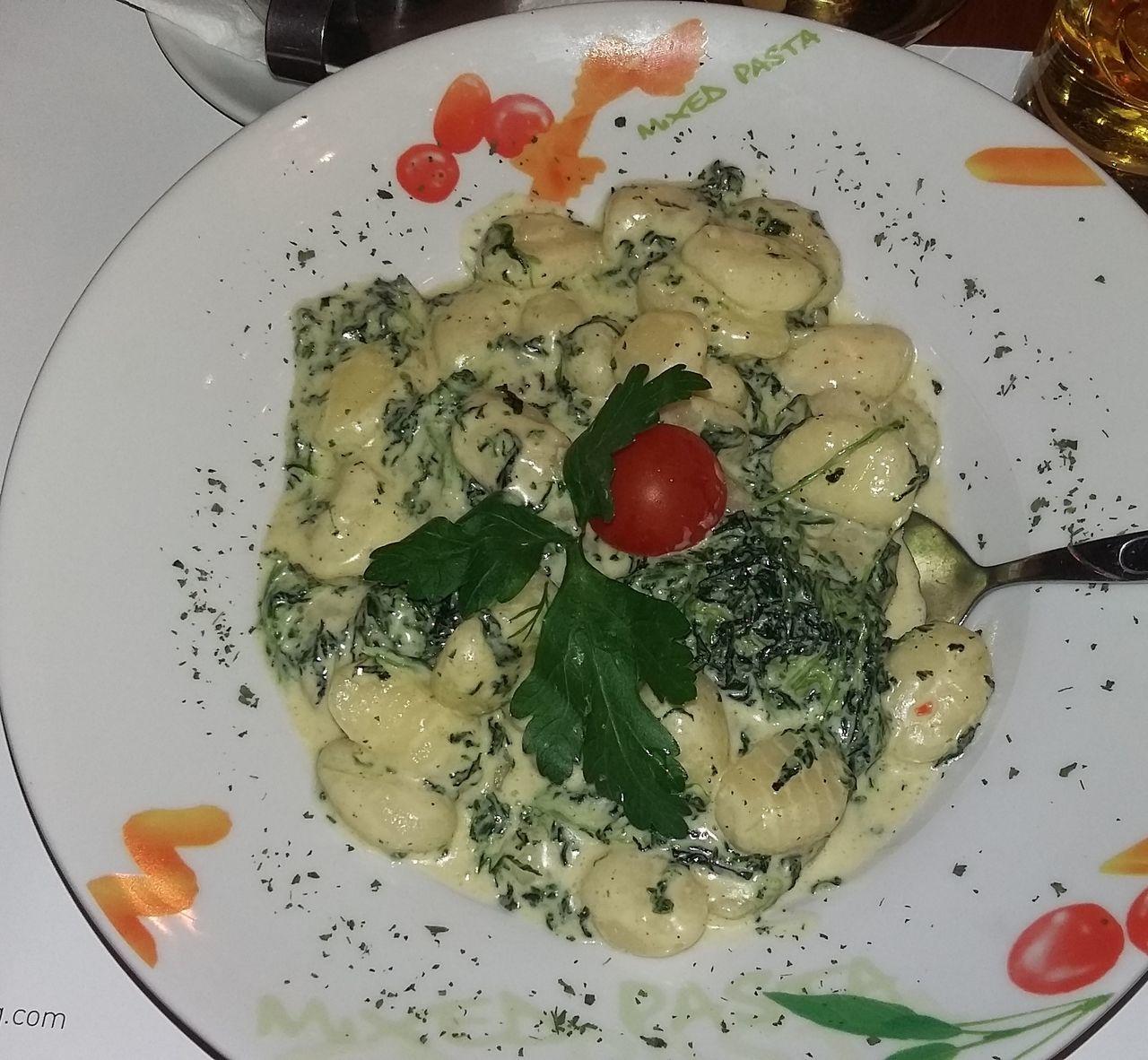 Christmas Dinner Italian Food Food Gnocci Spinach Foodporn Food Porn Foodphotography