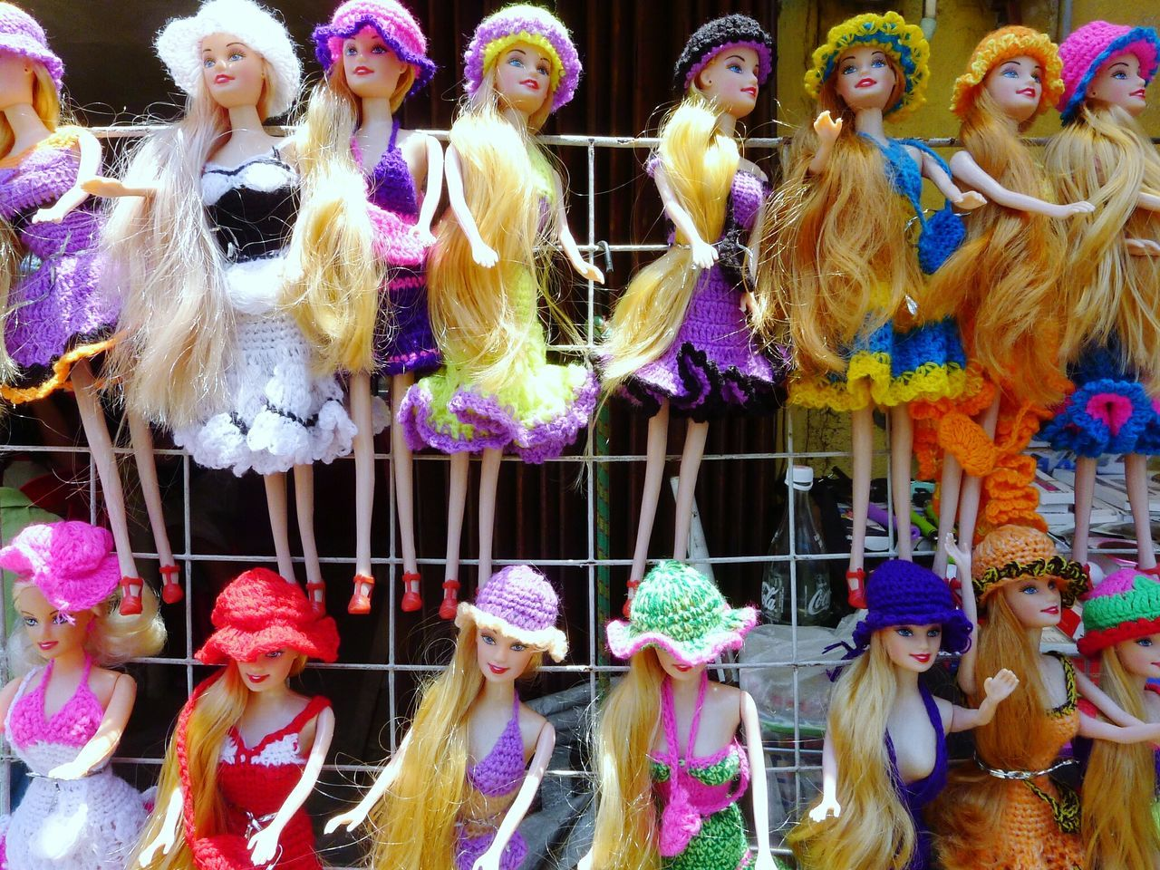 For Sale Retail  Outdoors Variation Real People Market Stall Multi Colored Day Men Colorful Colors Candlecolor Color EyeEm Best Shots Eyeemphotography EyeEm Best Edits EyeEm Gallery Barbie Barbie Girl Barbie Collector Barbiedoll Doll Dolls Barbie<3 Barbies