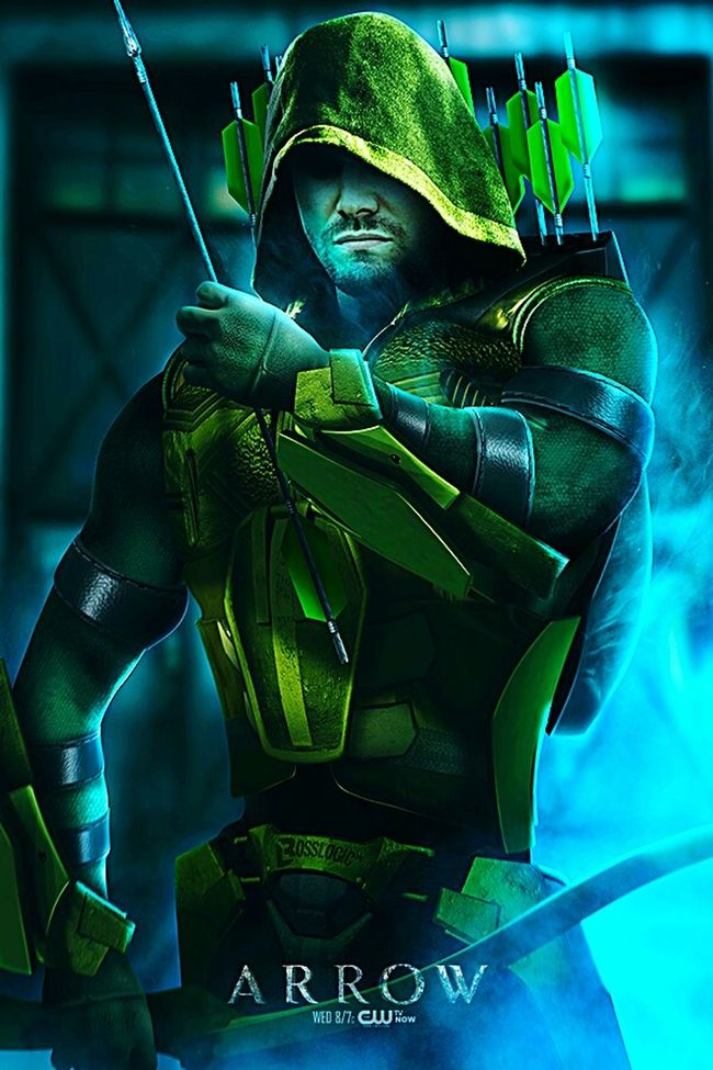 By BossLogic Childhood Focus On Foreground Tradition Innocence Person Man Made Object Green Color Development Performance Arrow DC Comics Netflix Bow And Arrow Green