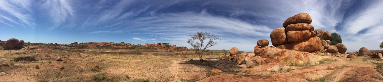 Devils Marbles Australia Australian Outback Nature Outback Panorama Panoramic Photography