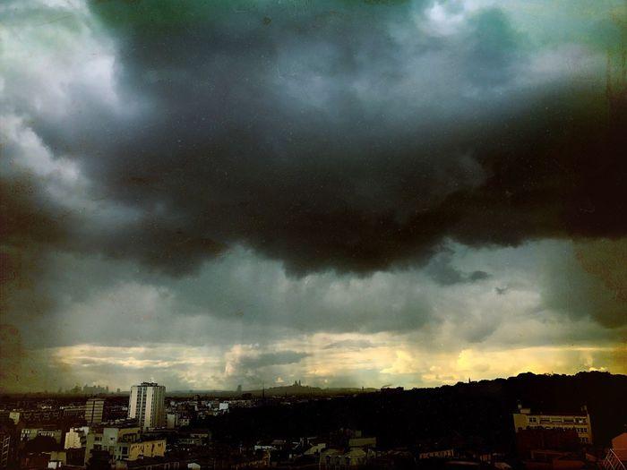 Storm Cloud Outdoors Nature Urbanphotography Cloud - Sky No People Paris