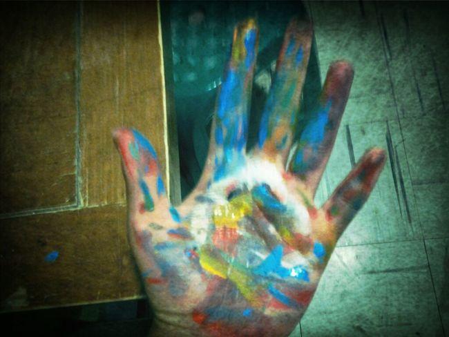 Painter Hand