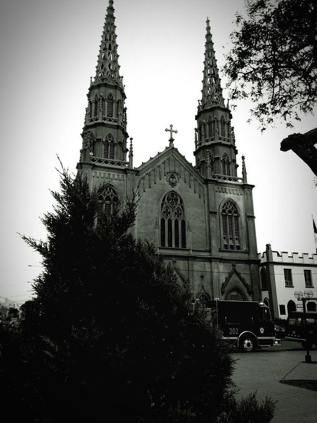 Taking Photos Black And White Photostreet Old Architecture Old Church Monochrome iglesia en jesus Maria ,Lima