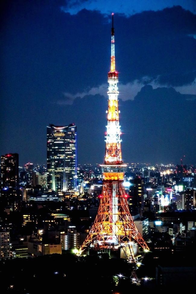 東京タワー 六本木ヒルズ 夜景 都市夜景 Tokyo Tower Roppongi Roppongihills Nightview City View  City Night Tower