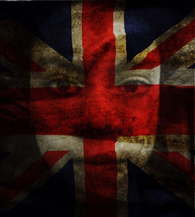 Random Overlap BlendPic England Flag United Kingdom Fun IPhoneography Practicing