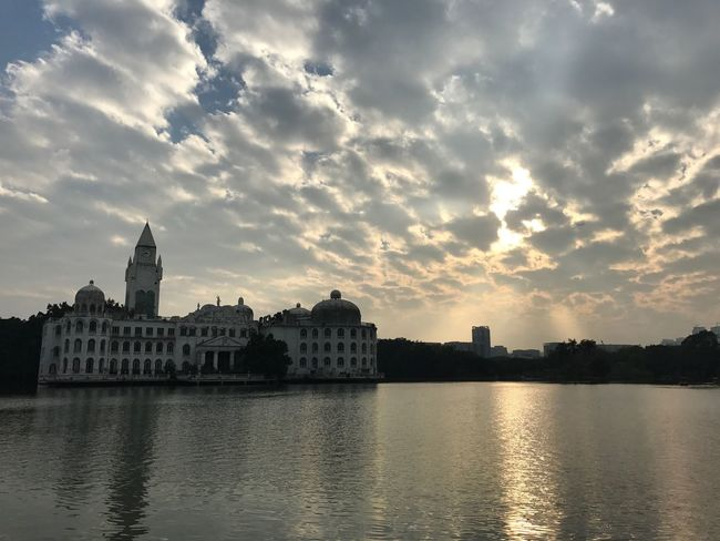 Minimalist Architecture Architecture Sky Cloud - Sky Sunset Water River Waterfront Cityscape Sky Lovers Exploregz