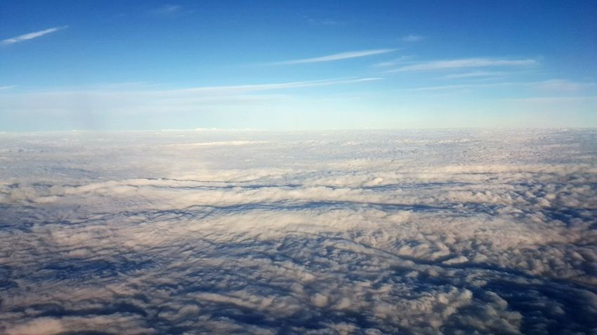 Cloud cover Nature Landscape Beauty In Nature Aerial View Outdoors Scenics Winter Tranquility Cold Temperature Snow Day No People Sky