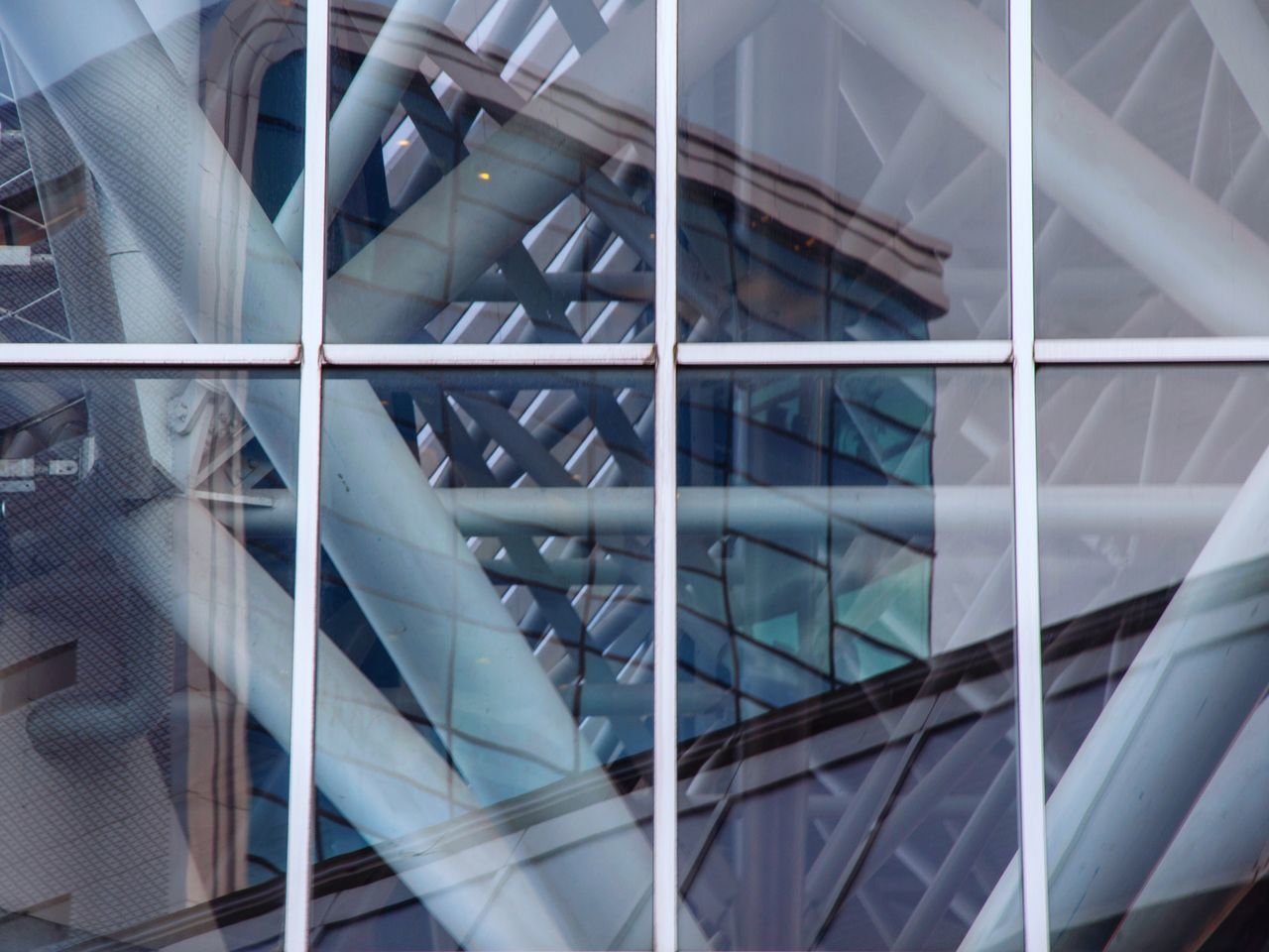 - Reflection & construction - Pattern Architecture Modern Built Structure Close-up Reflection Sky Office Building Exterior Mirror Window Nikon Nikonphotography Amsterdam Amsterdam Rai Skyscape Office Block Cloud - Sky Low Angle View Glass Construction