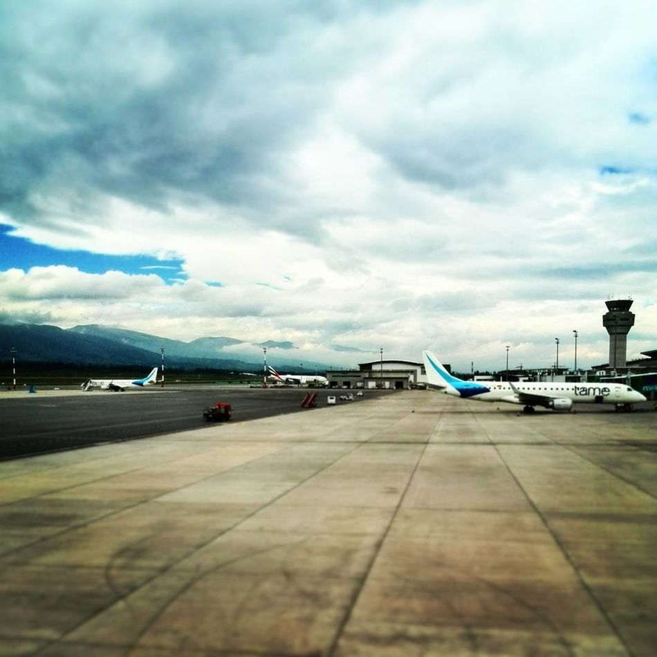 Let's go back to home Quito Ecuador Trip Photo Cloud - Sky Airplane