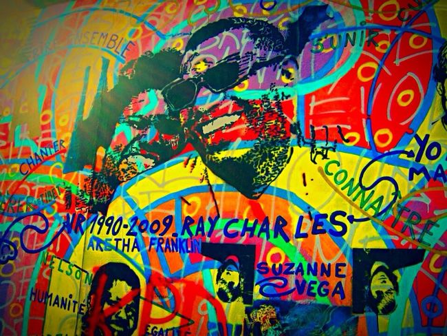 Berlin The Wall Berlin Wall Graffiti Colors Colours ArtWork