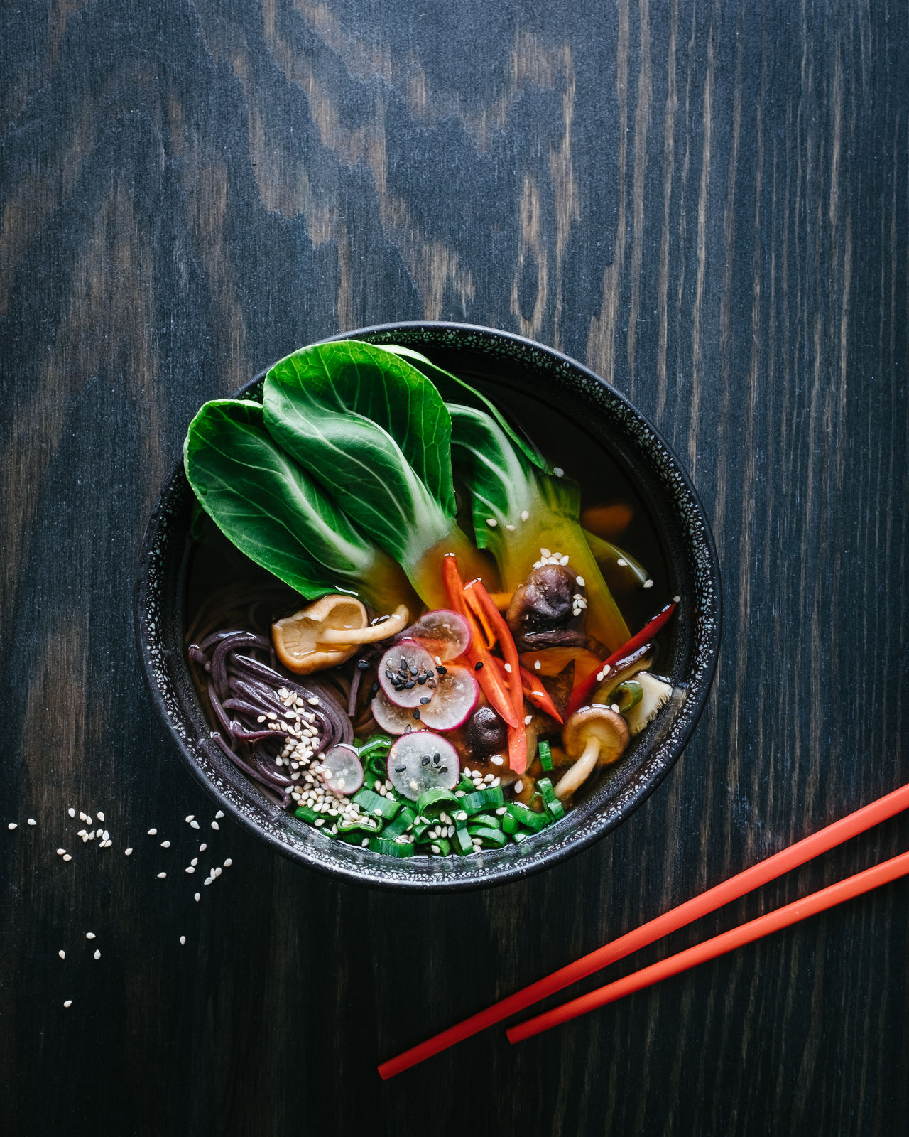Beautiful stock photos of vegetables, Bowl, Chopsticks, Food, Food And Drink