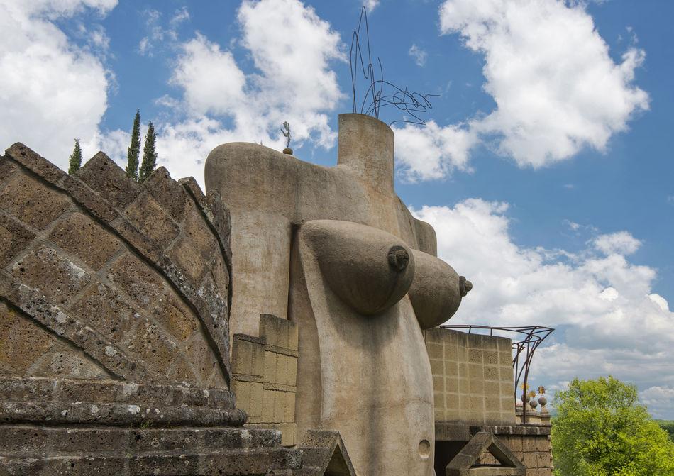 Architecture Blue Cloud - Sky History Italy La Scarzuola Montegabbione Sculpture Terni Travel Destinations Umbria