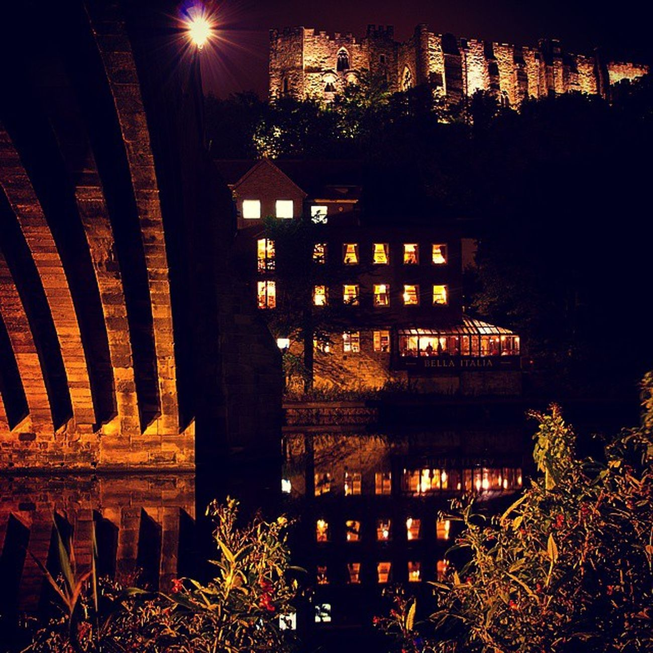 Reflections from the river DurhamCathedral