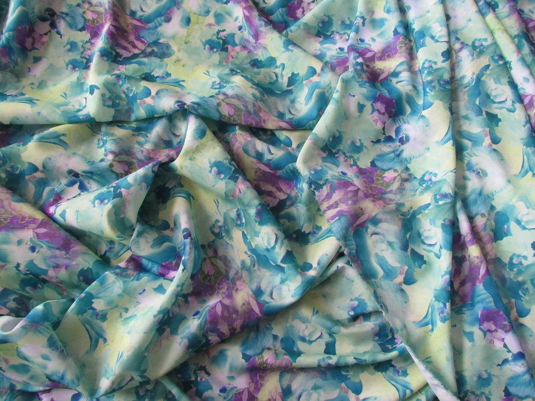 Estampado Tissue Tissues Estampas Estampa Tecido Azul Verde