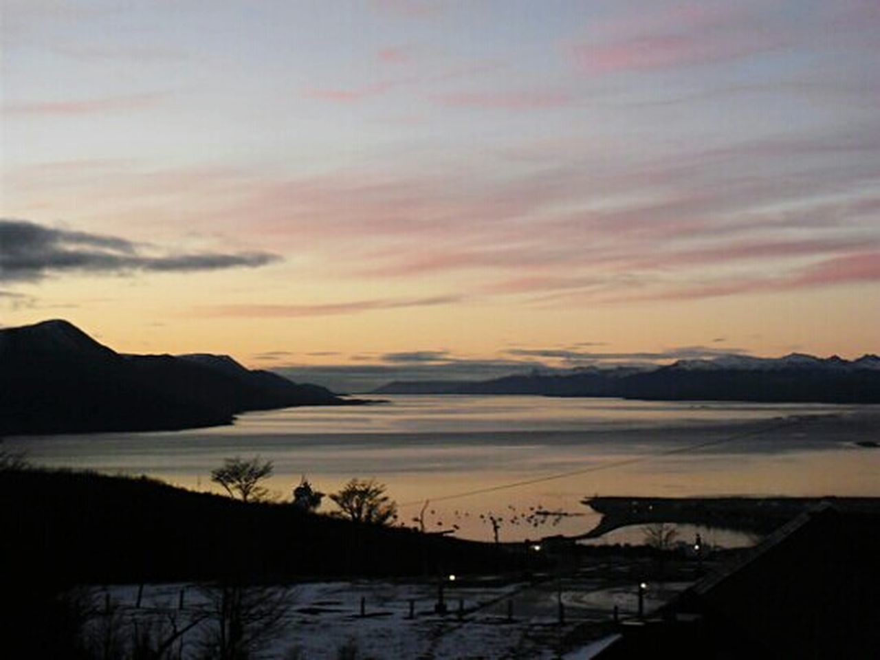 Sunset Tranquil Scene Beauty In Nature Outdoors Tranquility No People Sea Landscape Nature Ushuaïa Fin Del Mundo Argentina Travel Tierra Del Fuego Canal Beagle