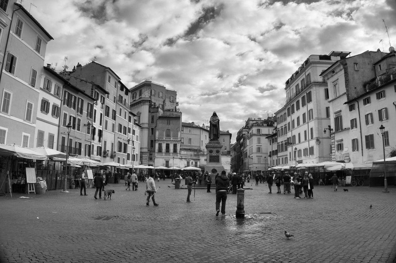 Giordano Bruno Black & White My Shot  Art # Nucciogarilli #artist Street Photography