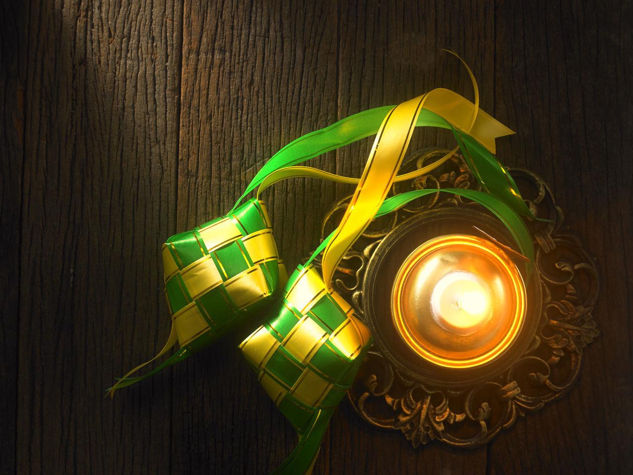 Aidilfitri Ambient Celebration Culture Culture And Tradition Decoration Eid Festival Festival Season Glow Greeting Hari Raya Hari Raya Aidilfitri Illumination Islam Ketupat Oil Lamp Pelita Ramadan  Religion Spiritual