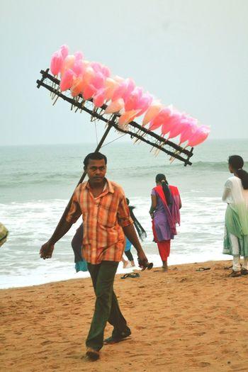 Sea coast... Hardworking people. EyeEm 7threflection Walking Around Purist No Edit No Filter Poverty Lives. Colours Of Life