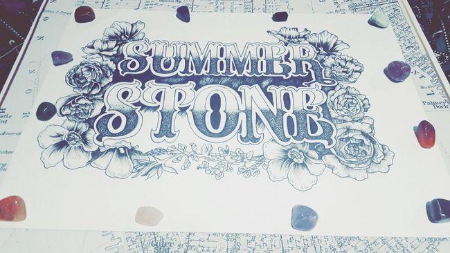 Logo Art Inspo Photography Artist Life Inspire Createdaily Melbourneartists Dotwork Text Gemstones Texan  Bluebonnets Flowers Illustration Fineliners Maps Summerstone