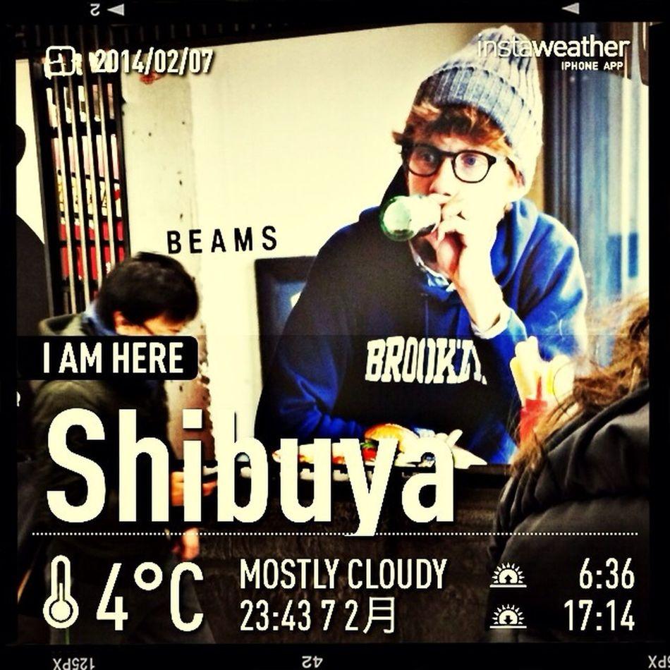 Now,I'm waiting for next train. Tokyo Japan Shibuya