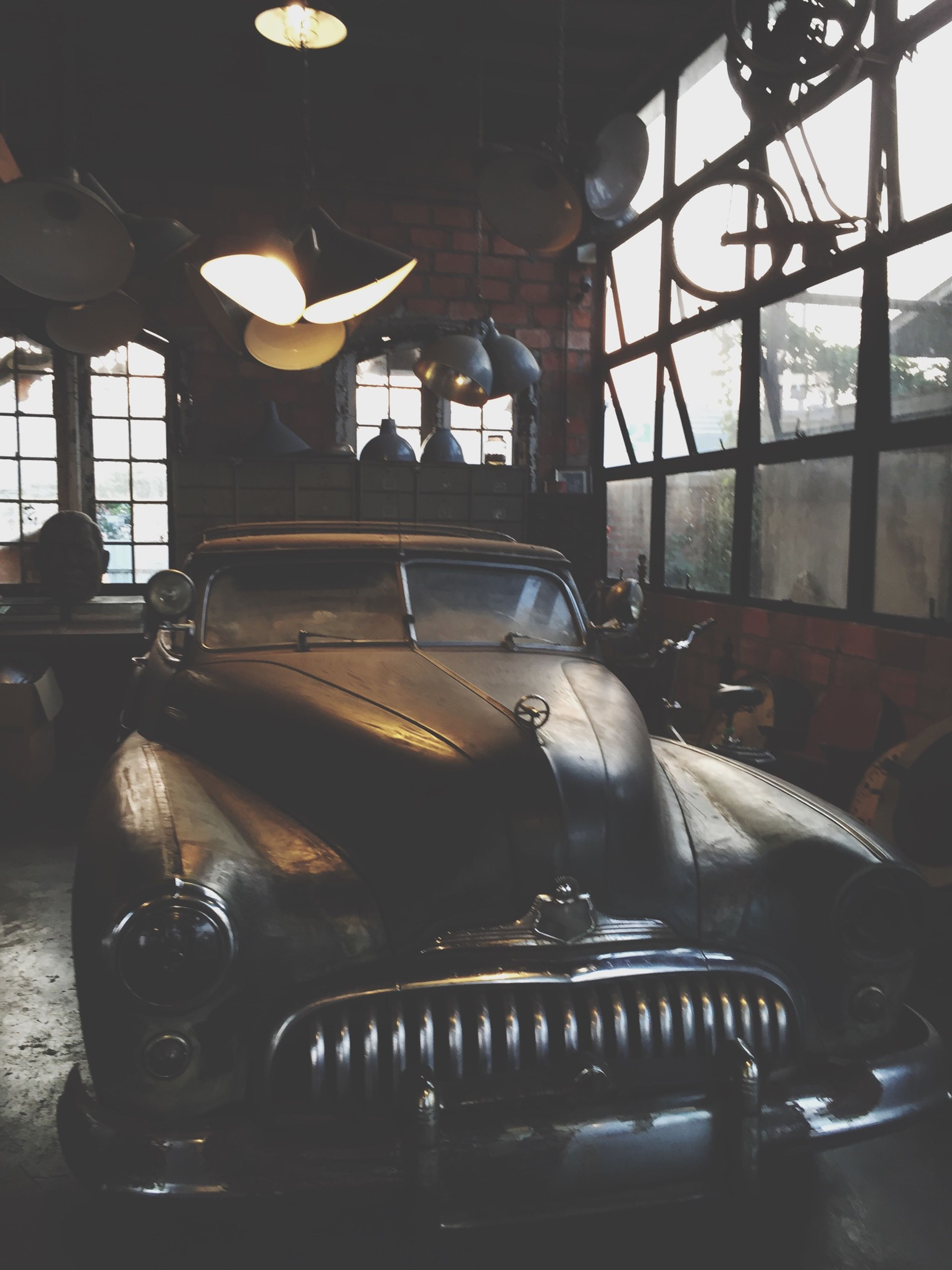 indoors, transportation, window, mode of transport, chair, interior, old-fashioned, absence, table, home interior, land vehicle, vehicle interior, empty, glass - material, no people, car, retro styled, seat, transparent, lighting equipment