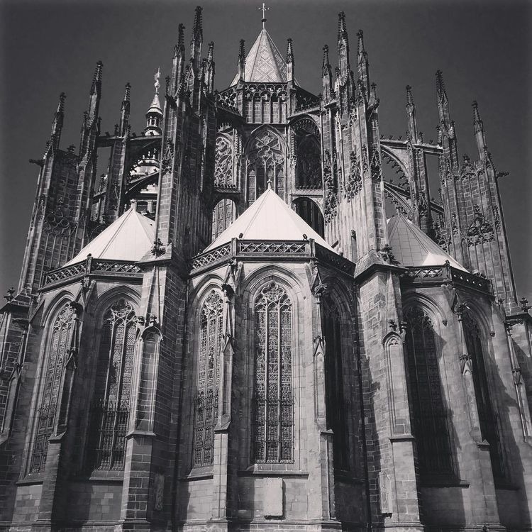 Cathedral Czech Czech Republic No People Place Of Worship Prague Religion Spirituality St Vitus Cathedra Vignette