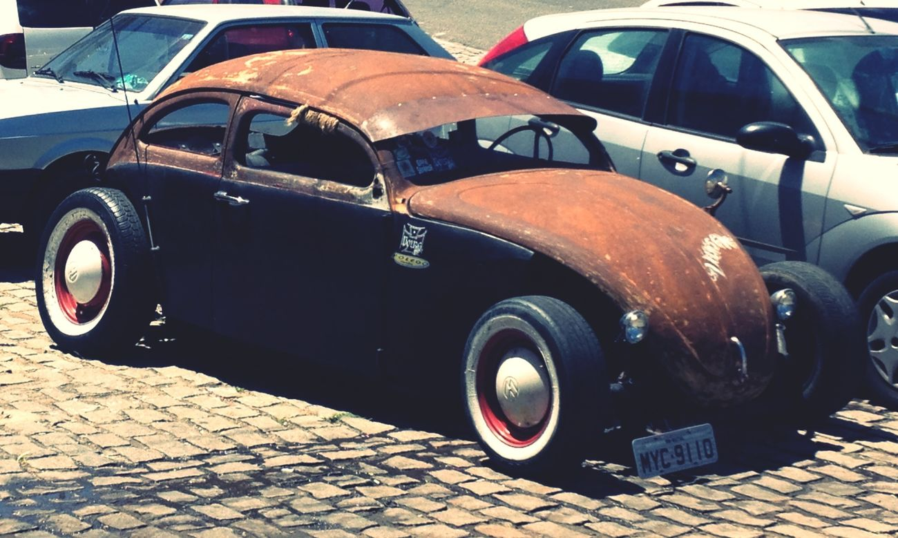 Northeast Volks Gang... Fusca Volkswagen Oldschool Rat Rod