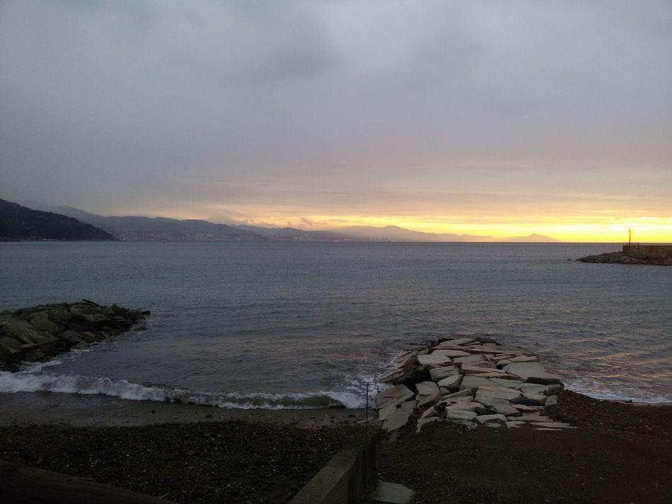 ARENZANO BEACH Scenics Sunset Water Nature Beauty In Nature Sea Beach Day