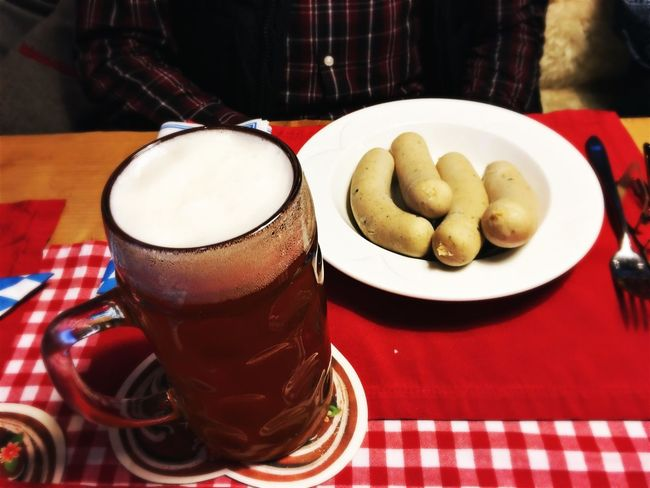 Food And Drink Indoors  Freshness Drink Refreshment Coffee Cup Table Coffee - Drink Food Close-up Ready-to-eat Serving Size Appetizer Plate Indulgence Non-alcoholic Beverage Temptation Meal No People Wurst Weisswurst Beer Bayern Germany