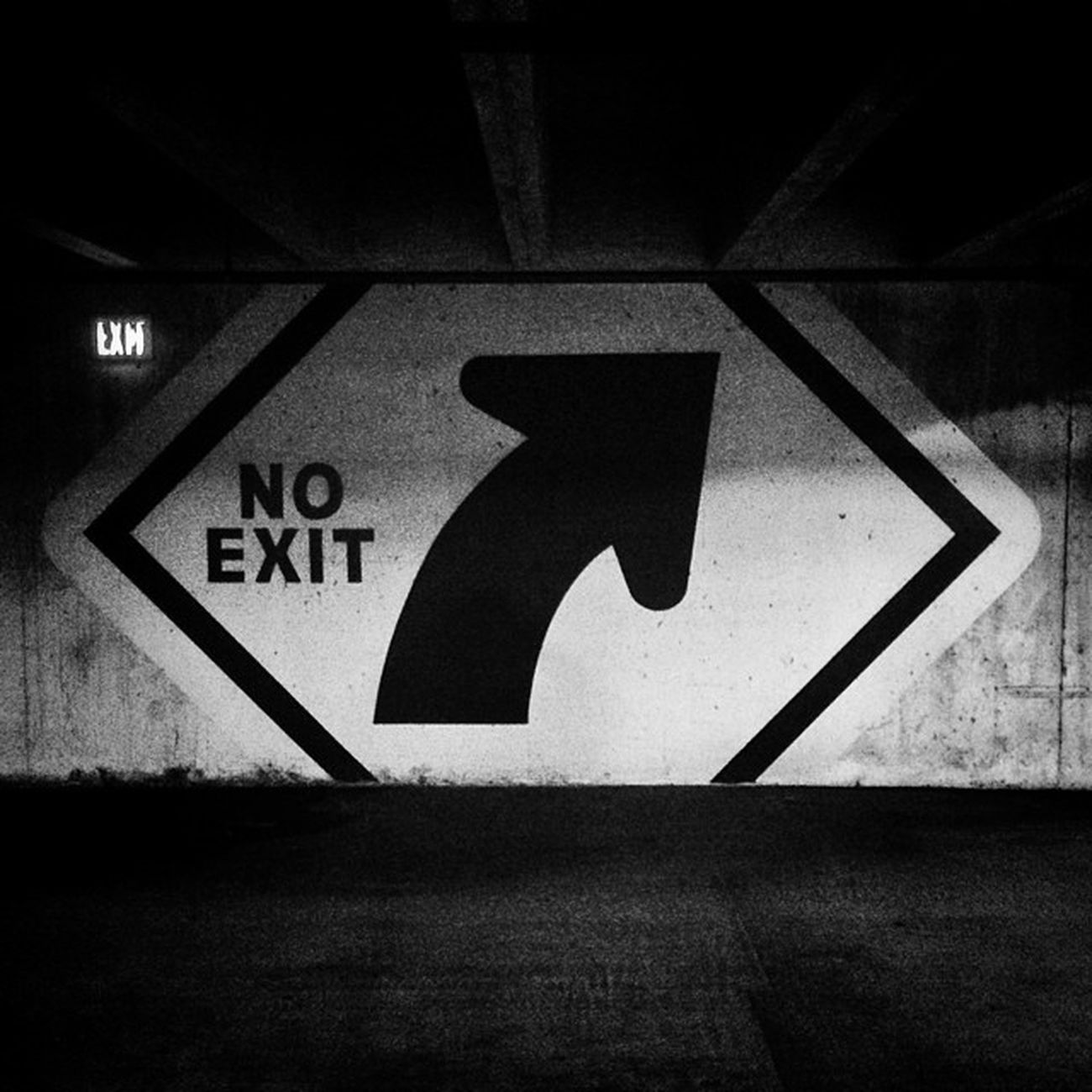 No Exit Dma  Dallasmuseumofart DFW Blackandwhite bw