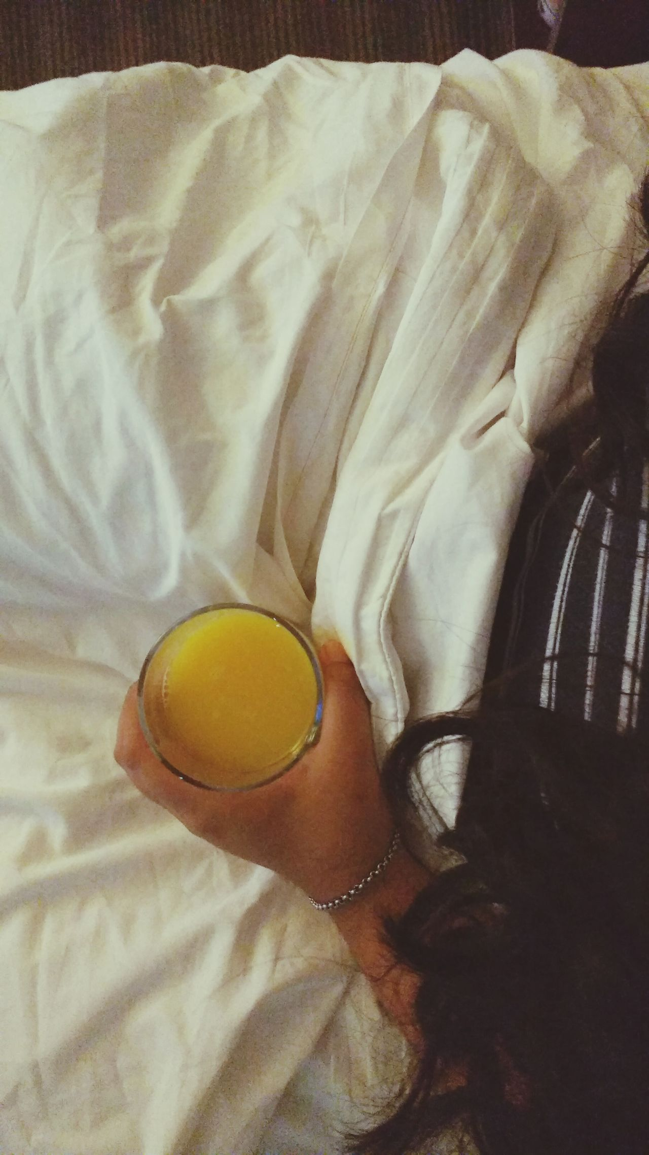 EyeEmNewHere Morning Morning Rituals Morning Juice Orange Juice  Clothes Off Pijama Energy Weakup Relaxing Moments Relaxing Sweet Bed Sweet Dreams First Eyeem Photo