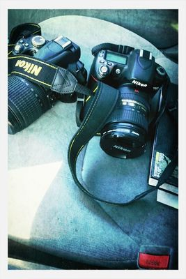 Nikon D80 and D5000 by Triple the Agent