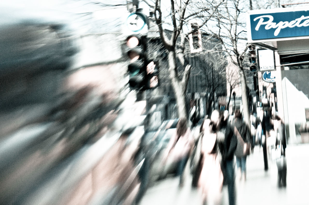 Test Lens-Baby composer kind of.. Blurred Motion Day Large Group Of People Lens Baby Motion Outdoors People Street Crossing Streetlight Streetphotography Walking