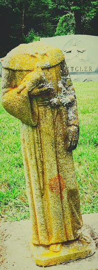 EyeEmNewHere North Carolina Outdoors Hendersonville,NC Asheville, NC Angel Statue Headless Statue Dove Cemetery Angel fletcher, north carolina