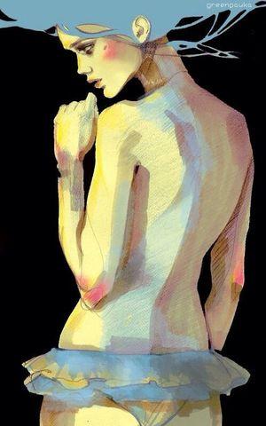 Drawing Illustration Woman Beauty