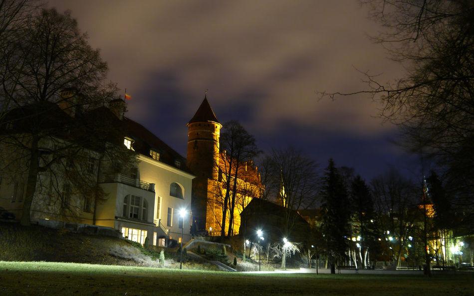 Olsztyn, castle Architecture Castle Castle View  Night Noc Olsztyn Warmia Zamek