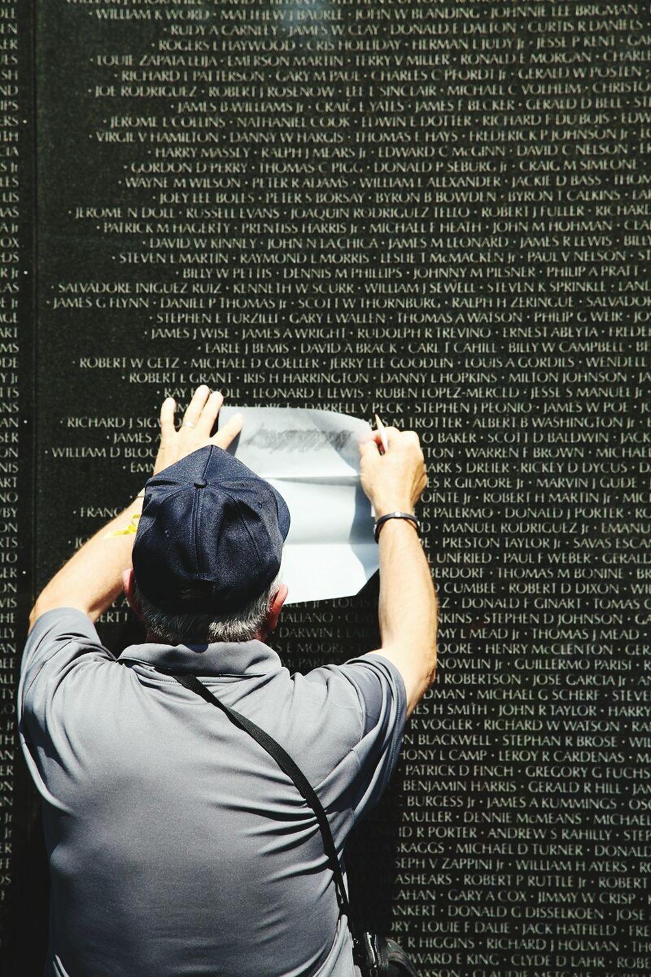Veterans Day Reflection Memorial One Person Men Adult Veterans Memorial Pencil And Paper Impressions