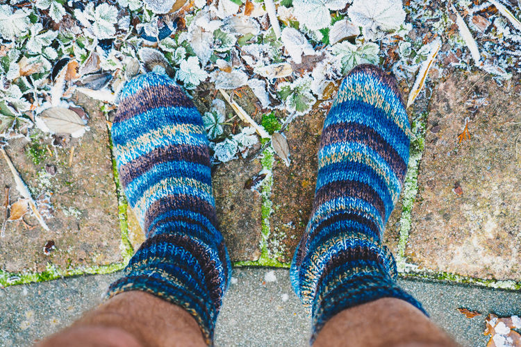 THANKS STEPMOM!   Adult Adults Only Blue Close-up Cold Cold Temperature Feet Foot Forthekids From My Point Of View Human Body Part Human Foot Human Leg Ice Leisure Activity Lifestyles Low Section One Person Outdoors Personal Perspective Real People Socks Socksporn TK Maxx Socksie